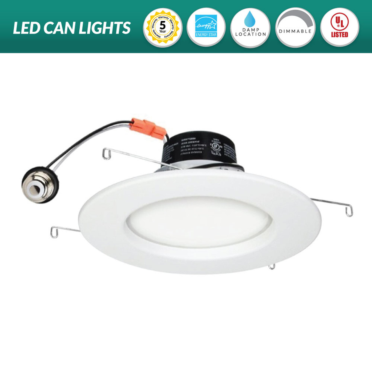 6 inch led can light recessed lighting retrofit on sale now while supplies last