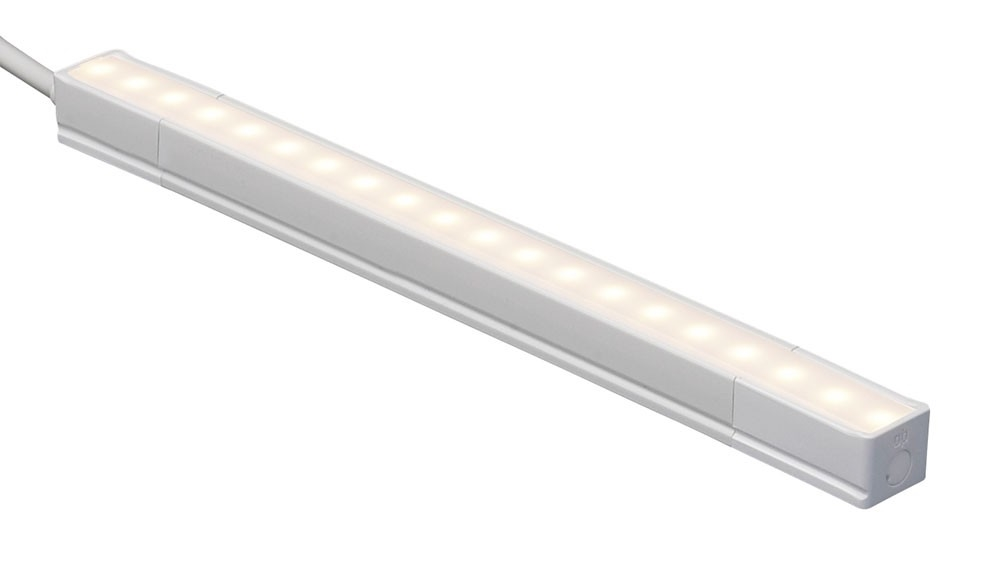 led 10 inch linear under cabinet and cove lighting strip 3500k neutral white