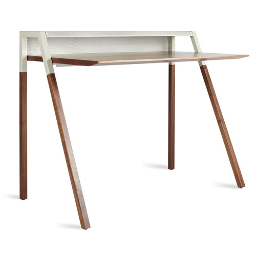 Mid Century Modern Office, Cant Desk by Blu Dot
