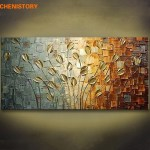 Large Canvas Modern Wall Art Oil Painting Picture Print Unframed Home Decor Gift