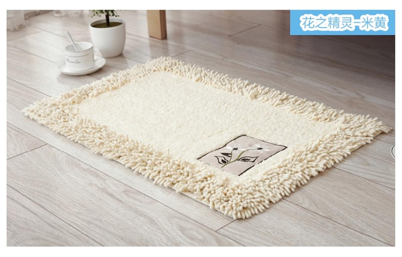 durable bathroom rug set luxury big size bath tub mat non slip door bathroom set carpet bath mats rugs floor 60x90cm 45x120cm