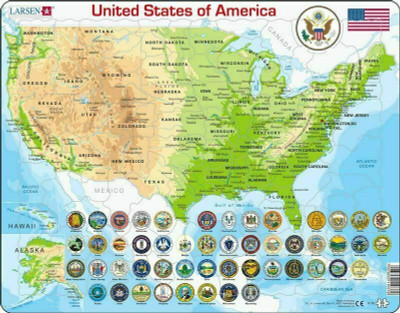 Not only is it good for diy and home improveme. United States Map 90 Piece Children S Educational Jigsaw Puzzle