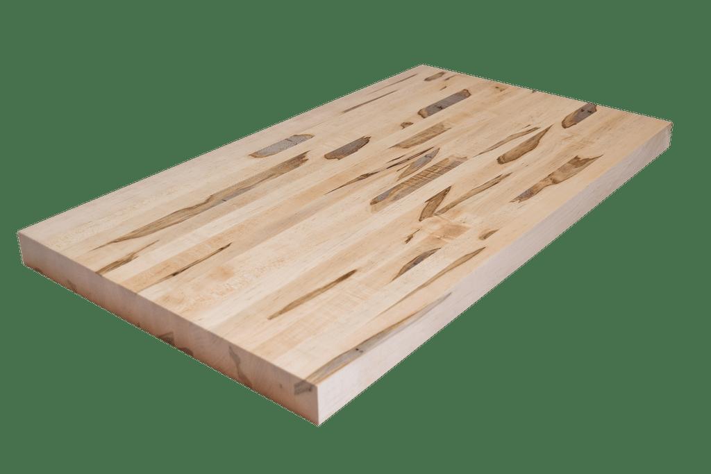 Wormy Maple Edge Grain Butcher Block Countertop