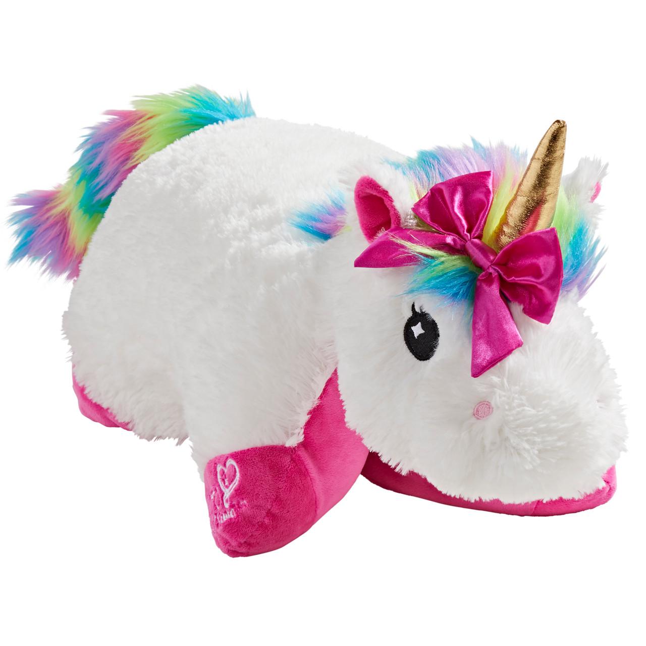 nickelodeon jojo siwa rainbow unicorn pillow pet