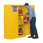 Justrite 45 Gal Flammable Safety Cabinet 894520 Self Close