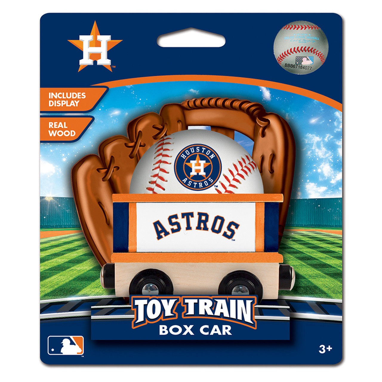 Houston Astros Mlb Box Car Trains