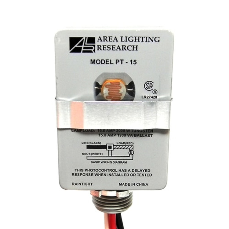 area lighting research pt 15 2000 watts photocell 120v