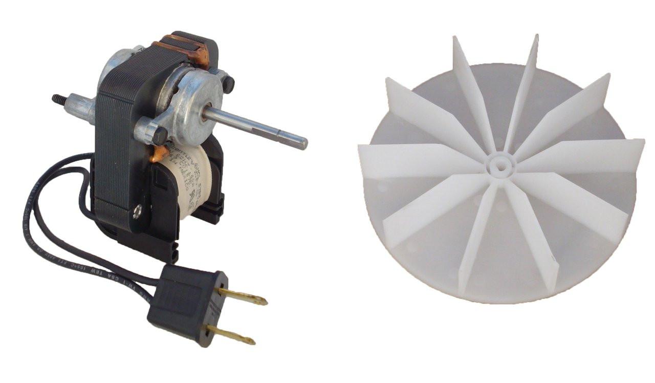 fasco k1575 universal bathroom fan replacement electric motor kit with fan 115v