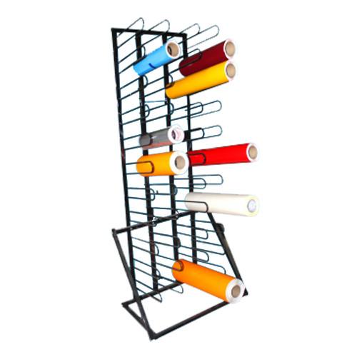 heavy duty wall rack for vinyl storage