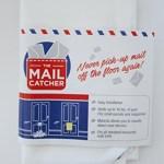 The Original Mail Catcher Bag Sack Front Garage Door Slot Letter Catcher Post Box Basket Toyboxtech