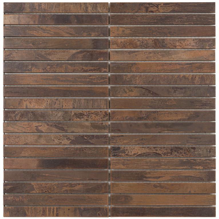 antique copper tile backsplash 5 8 x 6 mosaic
