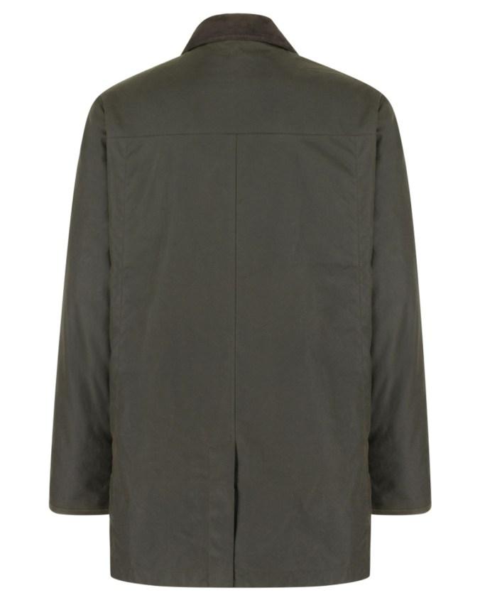 Hoggs of Fife Caledonia Wax Jacket Reverse