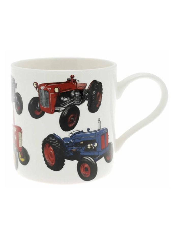 Tractor mug farmer gift