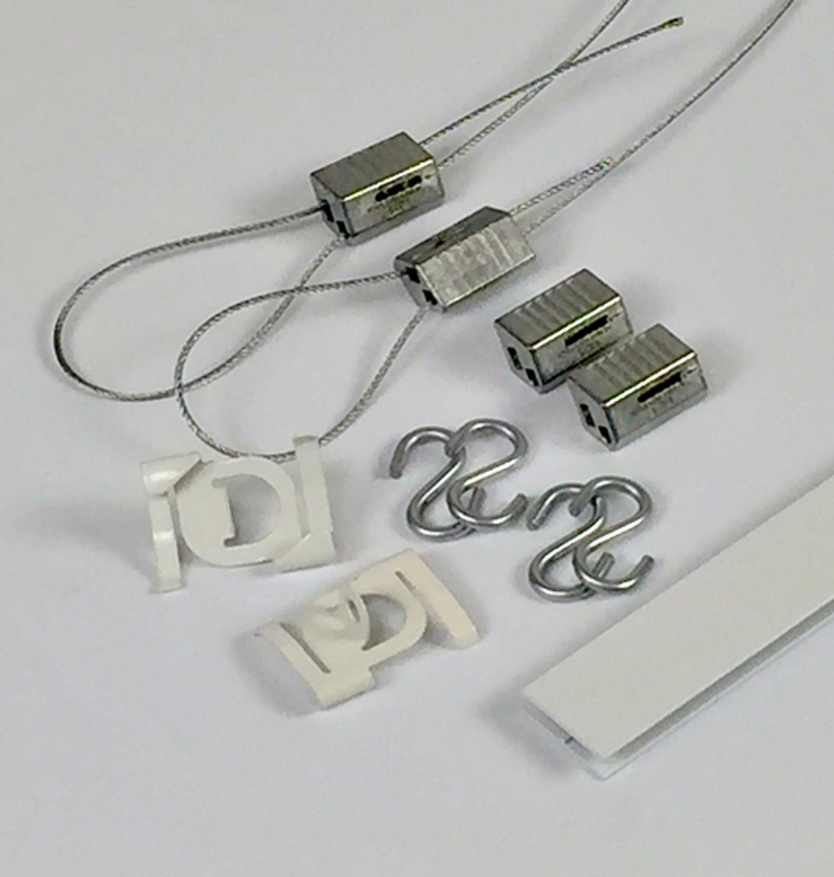 hanging signs drop ceiling hooks kit 2 cable set