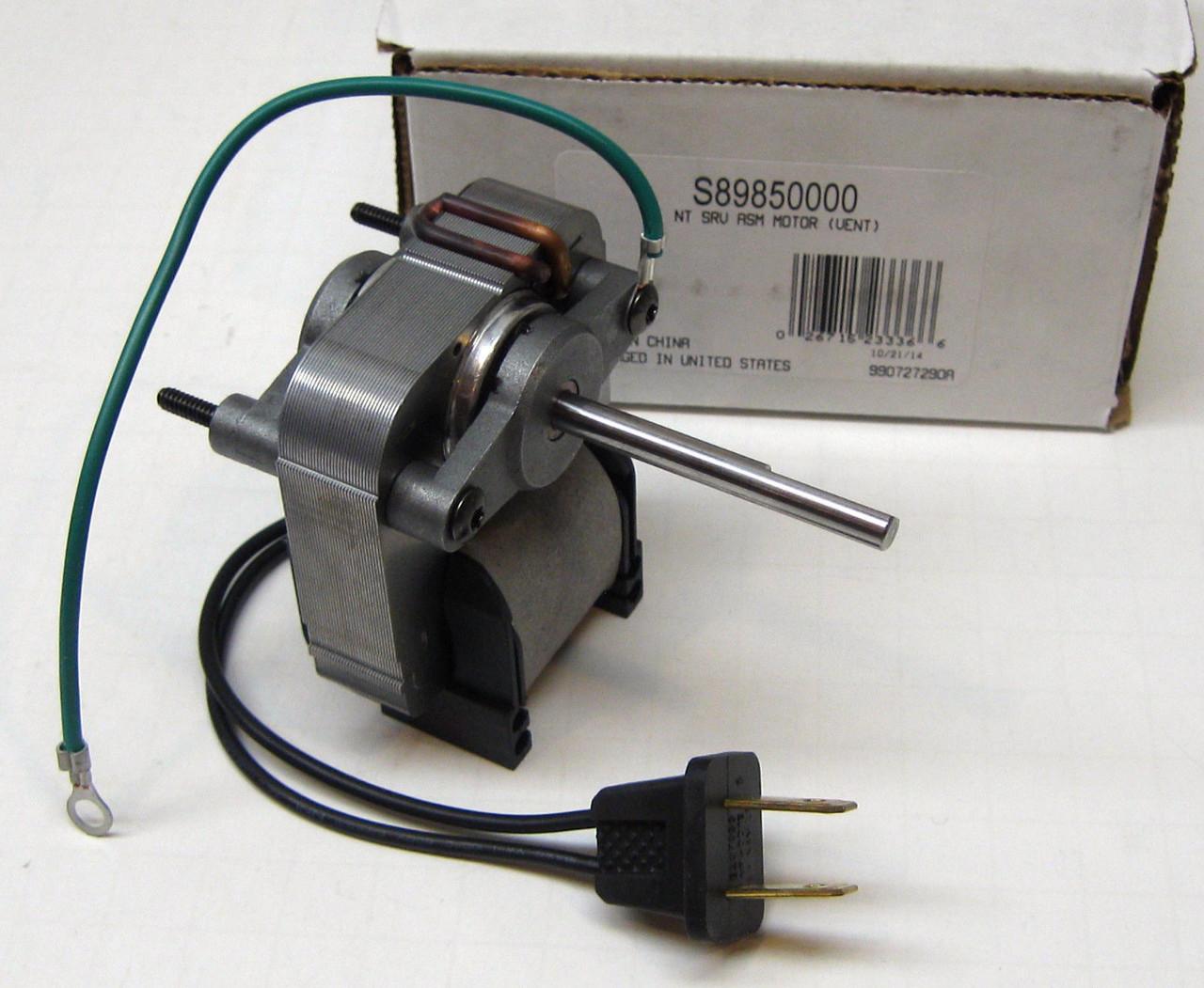89850000 broan nutone bath fan vent motor c 89850 sp 61k16