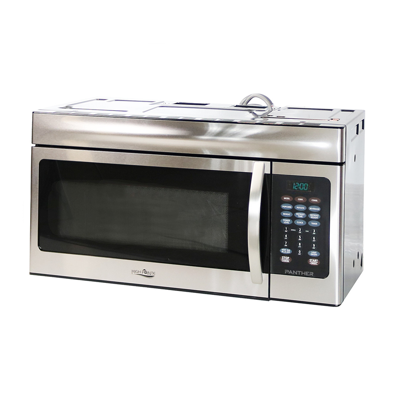 high pointe 520ec942k6 rv over the range convection microwave 1 5 c f