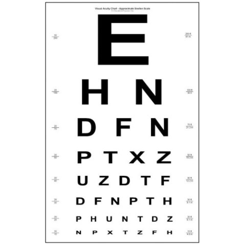 Image result for eye chart