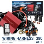 Universal 9 14 Gauge Fog Lights Wiring Harness Kit W 2 Connectors Fuse Relay Remote Spec D Tuning