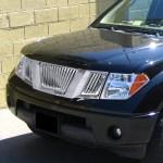 2005 2008 Nissan Frontier Pathfinder Chrome Vertical Grille Spec D Tuning