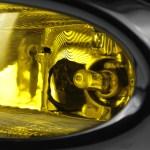 2013 2015 Honda Civic Sedan H11 Fog Lights Kit Chrome Housing Yellow Lens Spec D Tuning