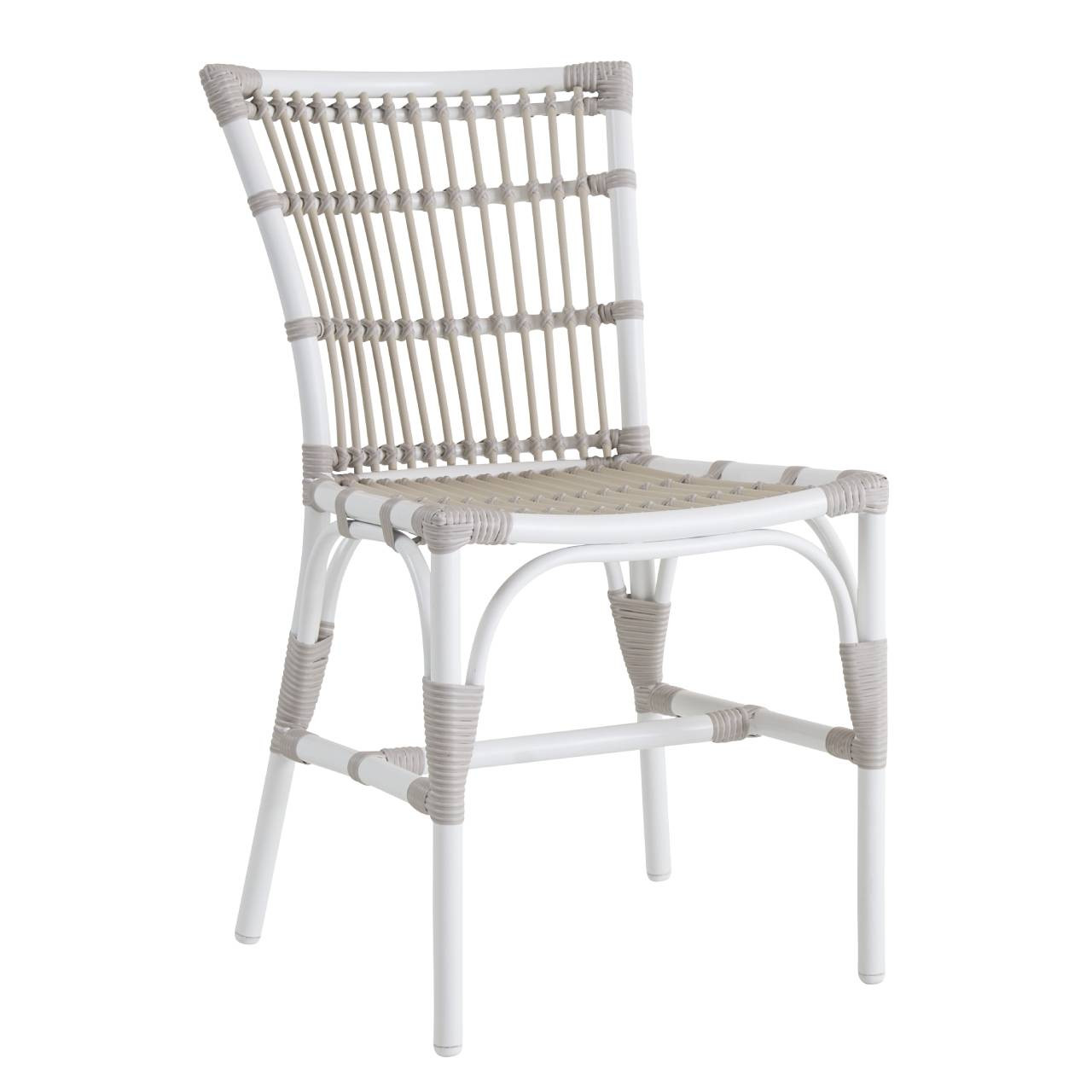 Sika Design Elisabeth Chair Exterior Stackable Outdoor Dining Chair