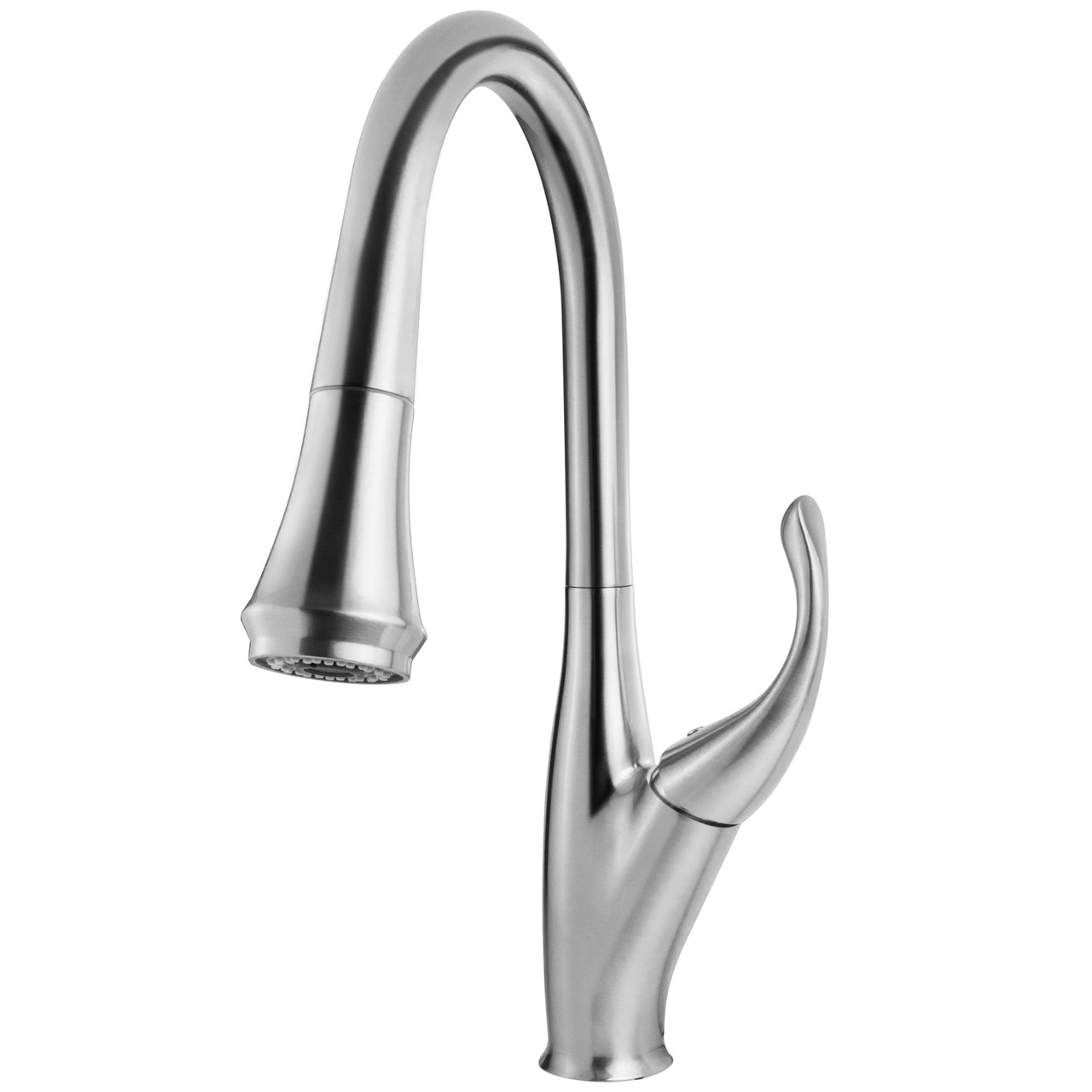 geyser gf75 s boden series brushed nickel pull down kitchen faucet