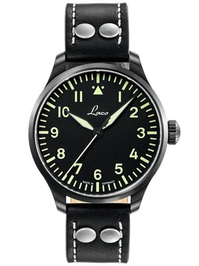 Laco 39mm Altenburg Type A Dial Automatic Pilot Watch With Sapphire Crystal 861991