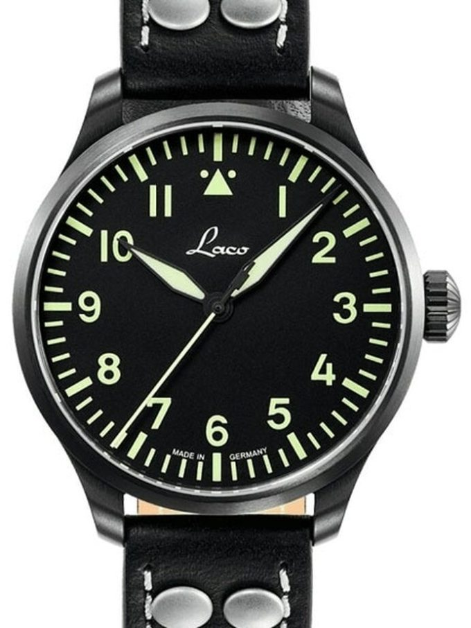 Laco Saarbrucken Type A Dial Swiss Automatic Pilot Watch With Sapphire Crystal 861752