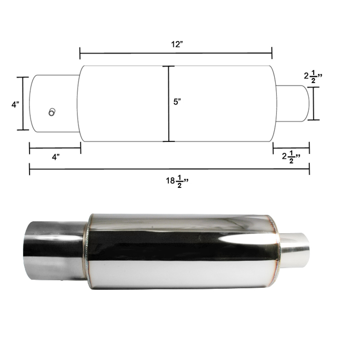 https www k2motor com apexi n1 style exhaust muffler with removable silencer stainless steel