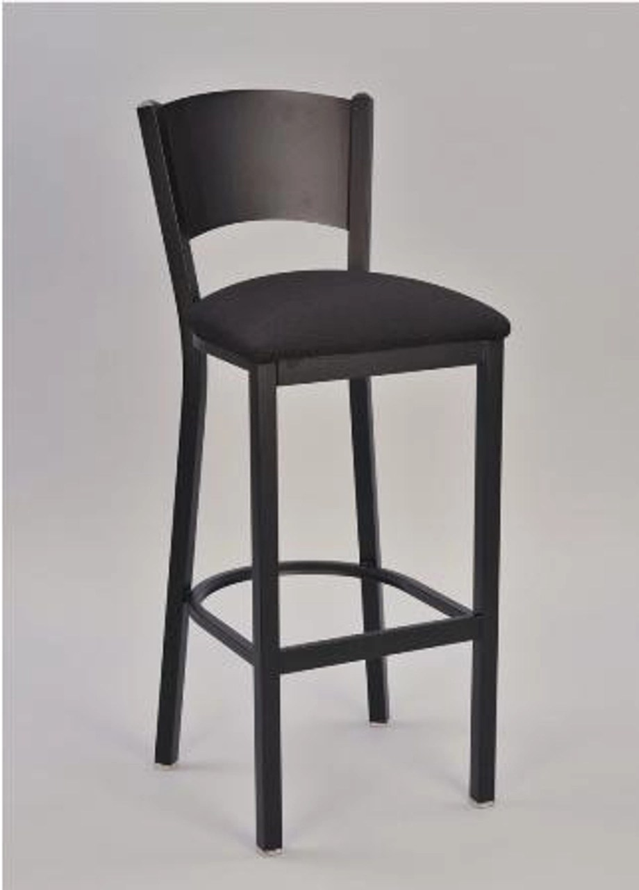 Metal Bar Chairs With Backs Metal Stools With Back