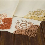 Autumn Napkin Corners