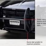 Go Rhino Dodge Charger Push Bumper 2011 2020