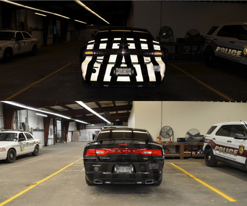 Ghost Police Vehicle Graphics