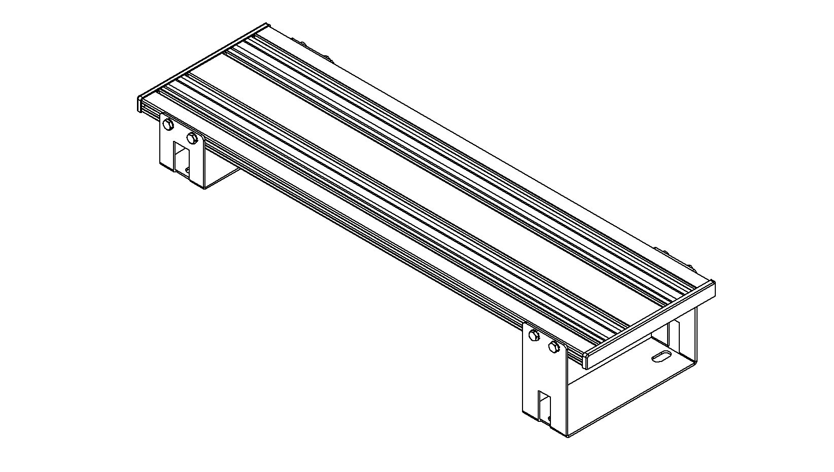 Havis C Tmw F150 03 Floor Plate Assembly For