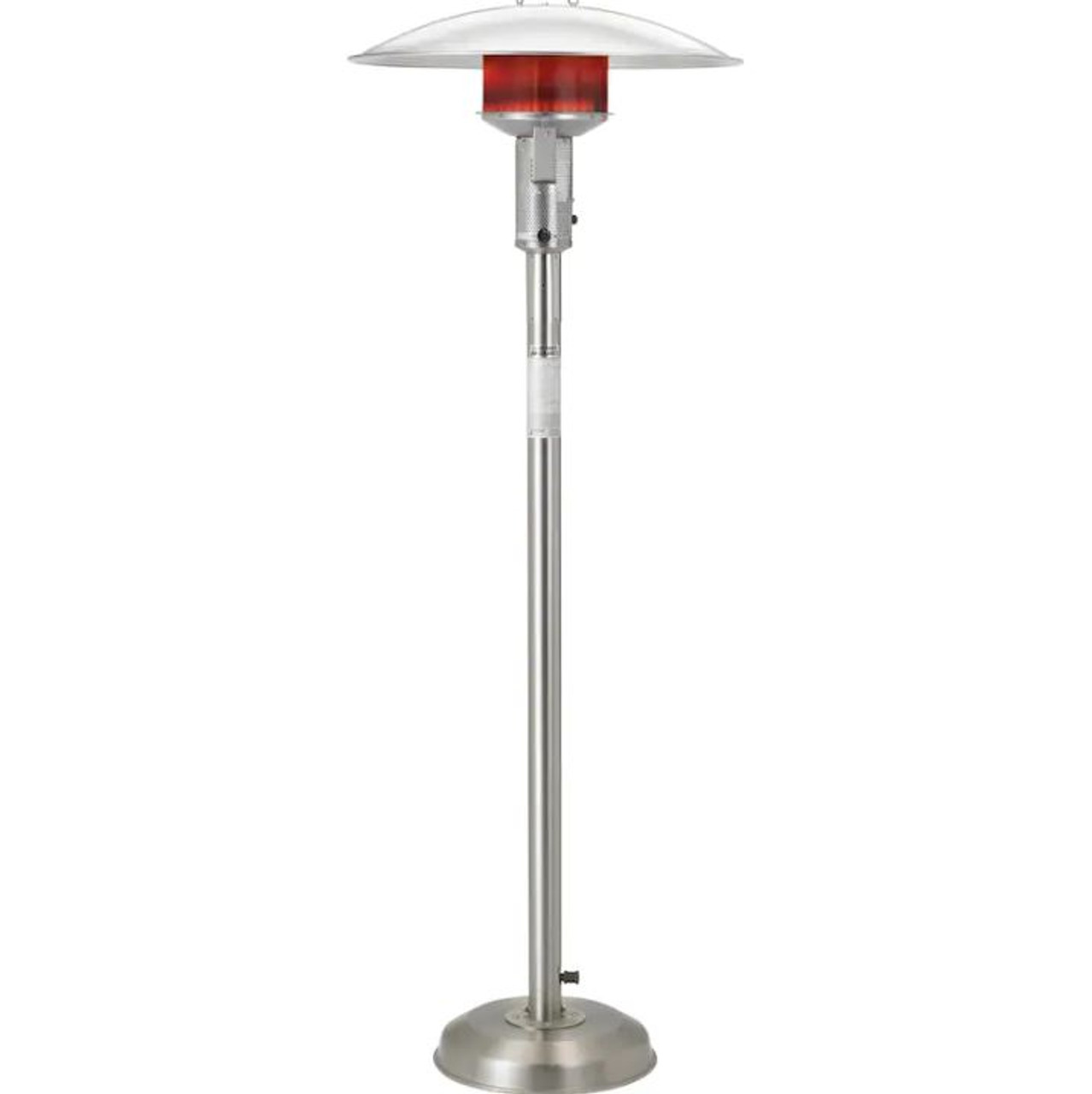 sunglo 50000 btu natural gas patio heater stainless steel a242 ss