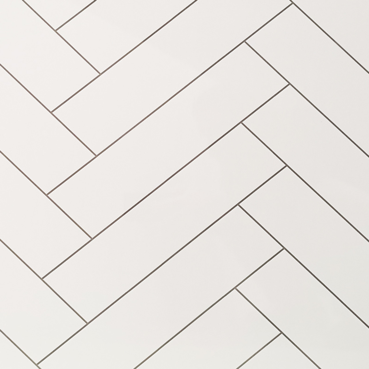 chevron tile white premium wet wall panel sample