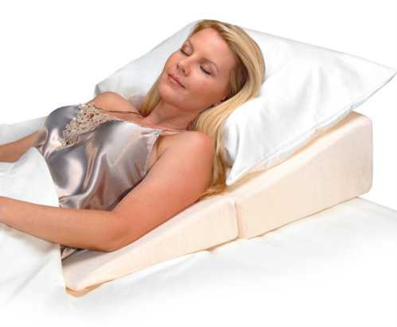 extended folding wedge cushion 32 length