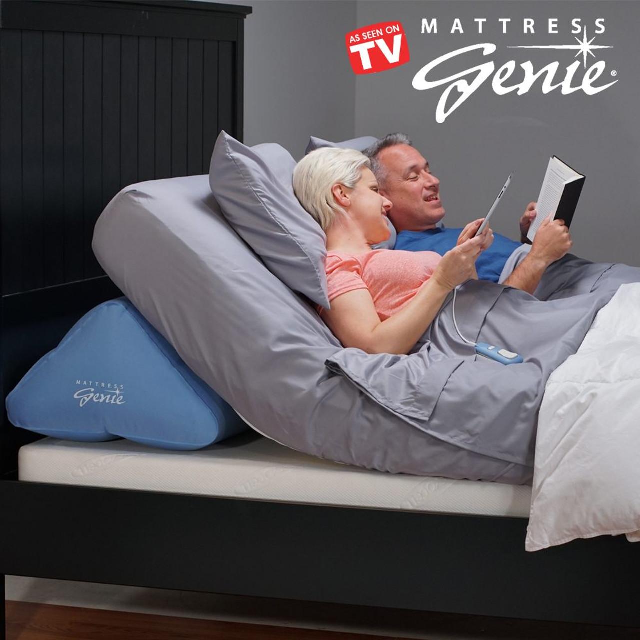 mattress genie adjustable bed wedge system