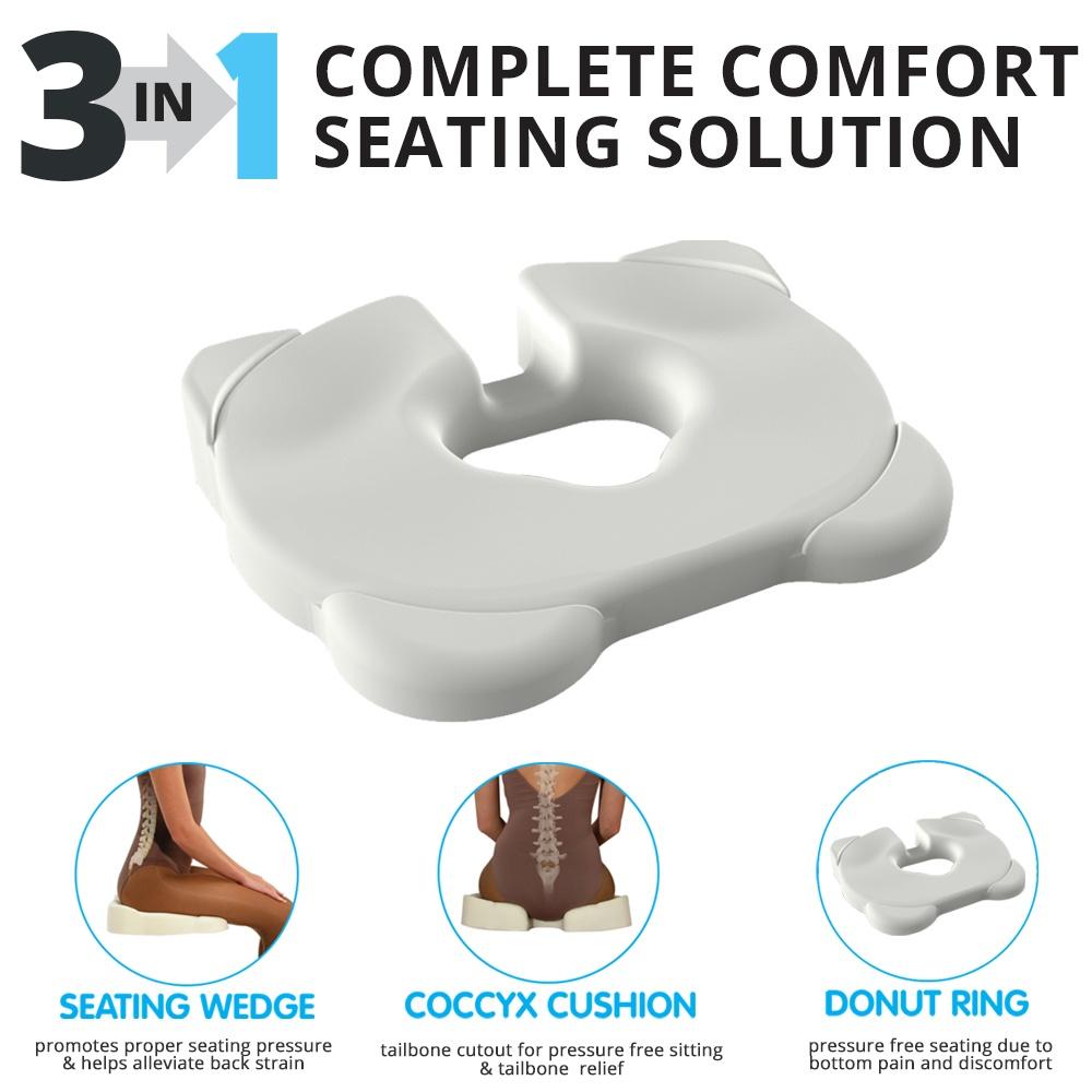 kabooti 3 in1 donut seat cushion