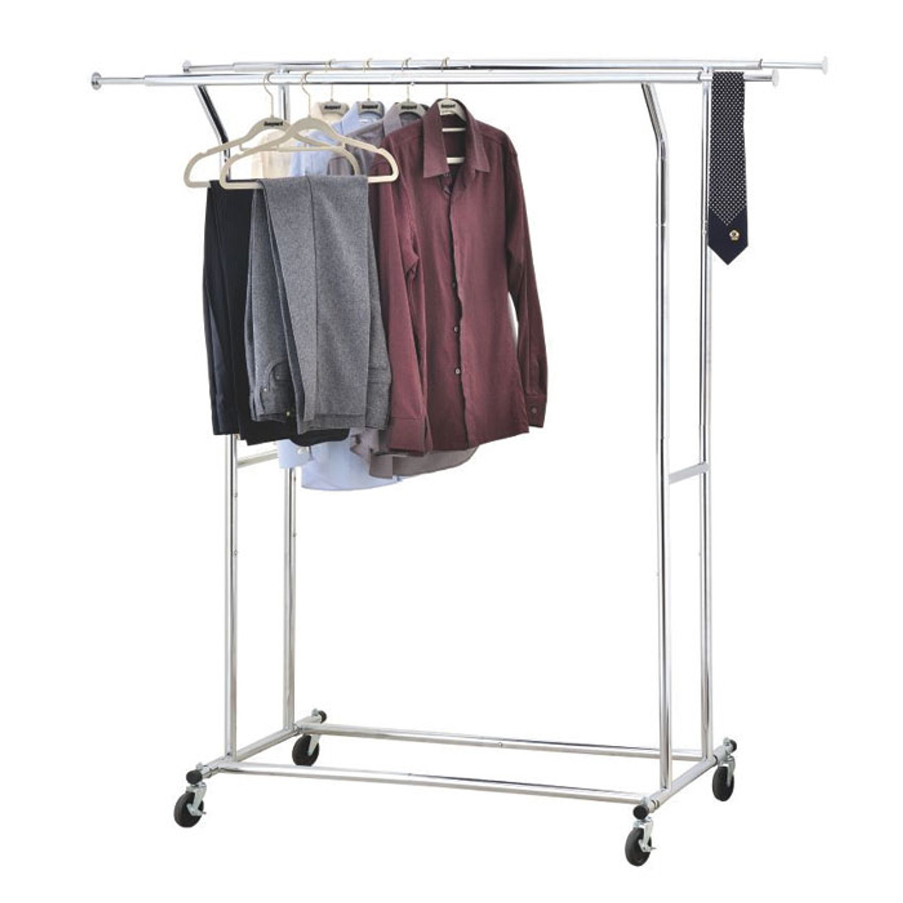 https solutions stores ca double commercial garment rack