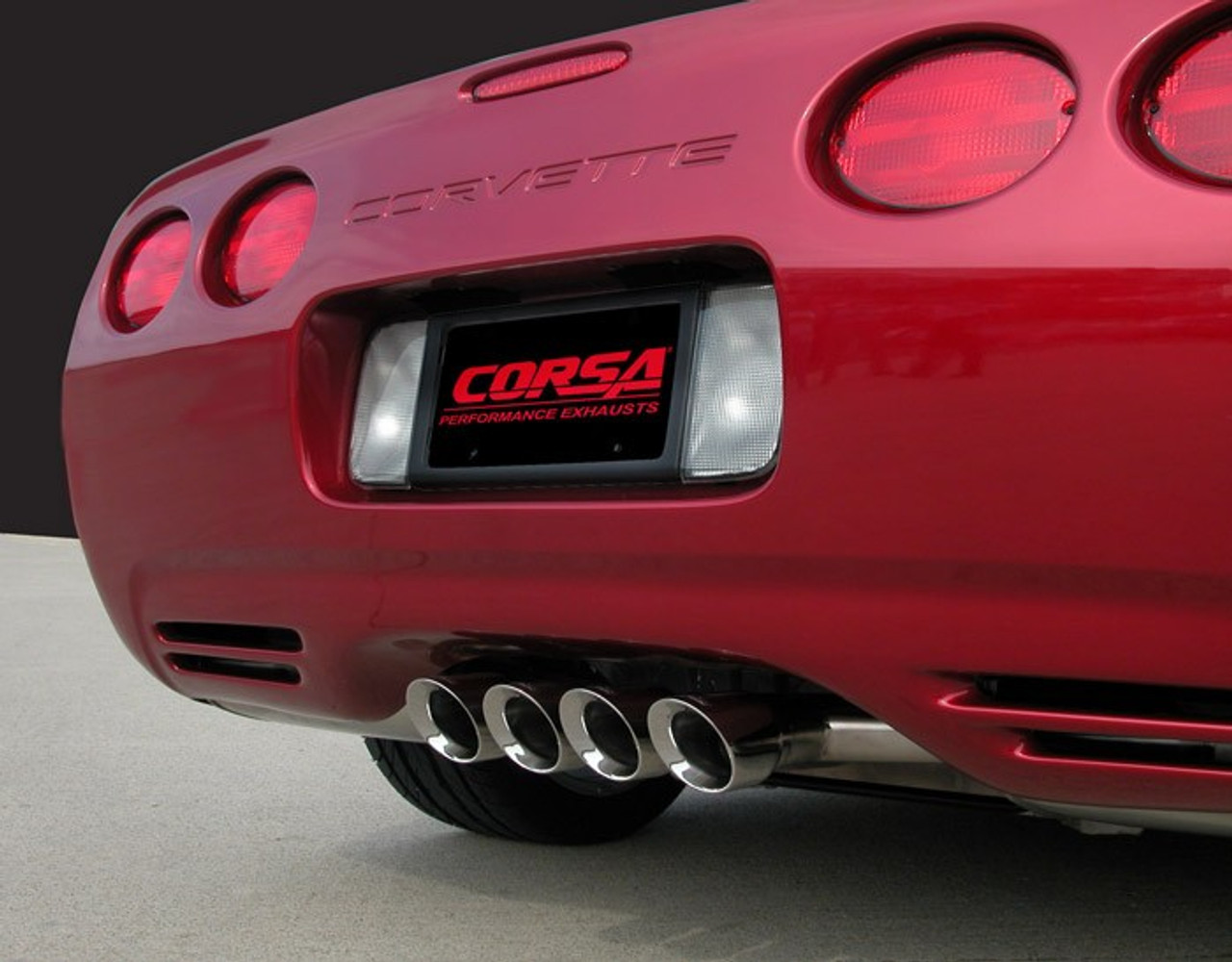 c5 corsa xtreme cat back exhaust system