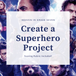 Create A Superhero 3 Branches Of Government Project