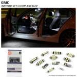 2000 2006 Gmc Sierra Interior Led Lights Package