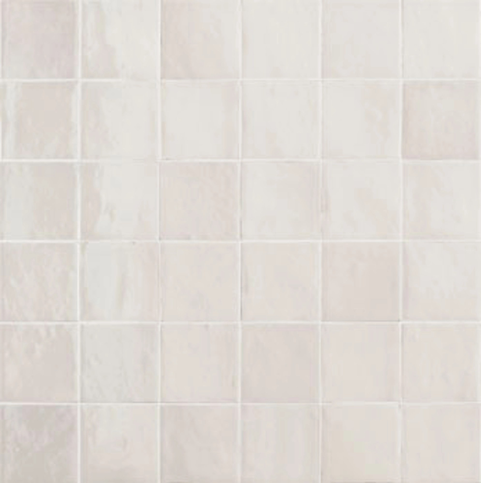 zellige ice white gloss wall tile 10x10cm sold per box