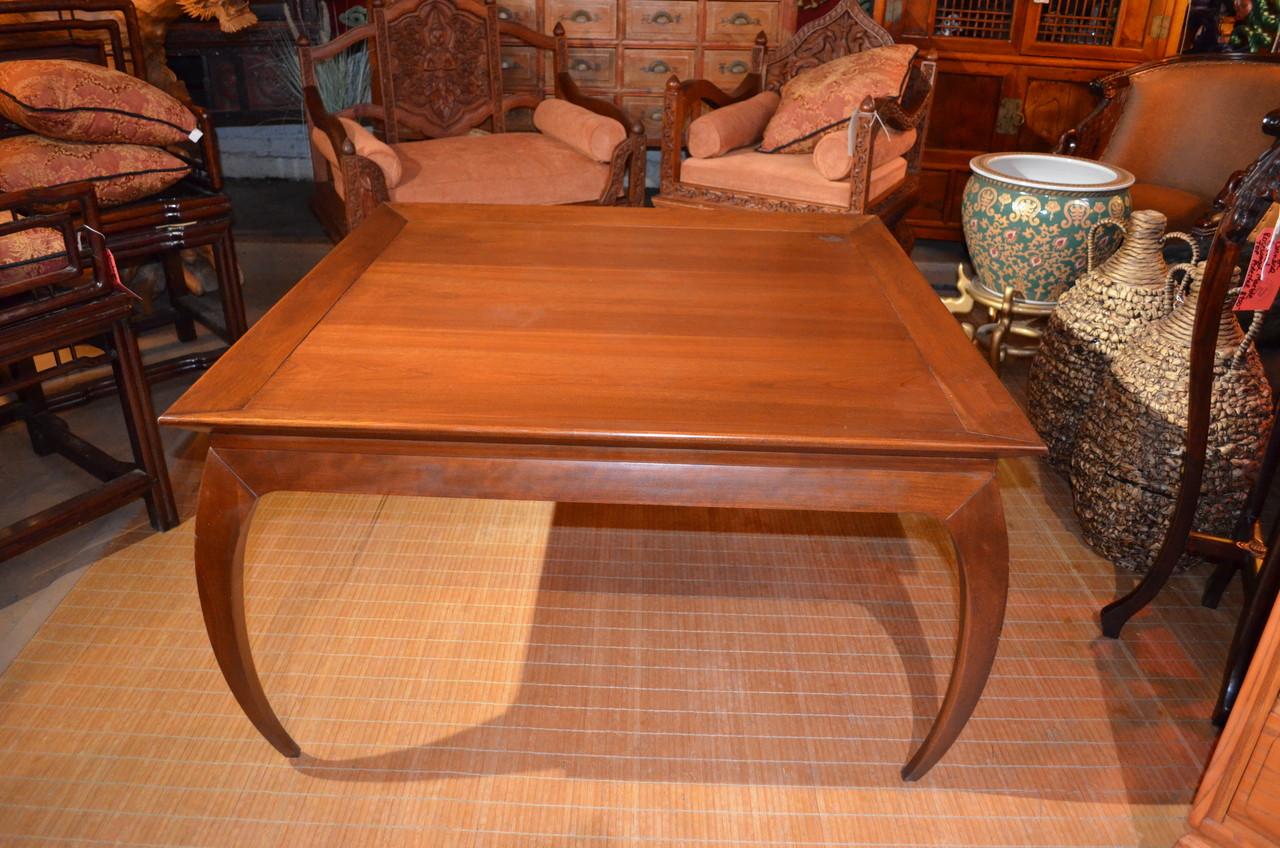 mid century modern thomas harden square coffee table