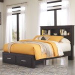 The Reylow Dark Brown Queen Bookcase Storage Bed Available At Ritz Furniture Planet Serving Mississauga On