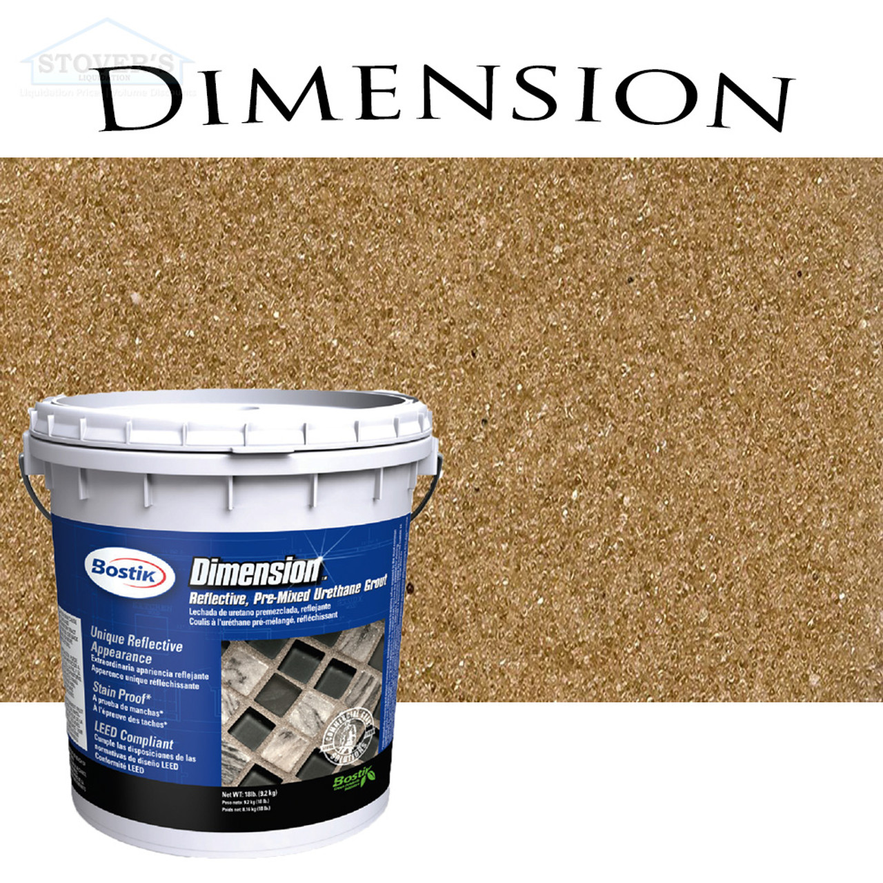 https www stoversliquidation com bostik dimension pre mixed grout citrine 640 free shipping