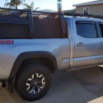 Tacoma Canvas Cage Bed Rack Gen 3 Datin Metal Fabrication Llc