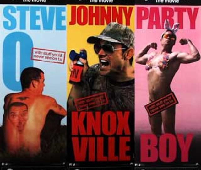Jackass The Movie Set Of 3 2002 Original Cinema Poster