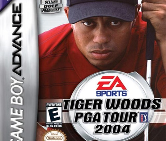 Tiger Woods Pga Tour 2004 Game Boy Advance Game